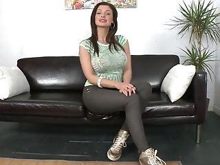 Aletta Ocean, Amateur, Audition, Babe, Big Tits, Brunette, Casting, Couch, European, Gorgeous,