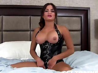 BDSM, Cum, Cum Swallowing, Femdom, HD, Masturbation, POV,