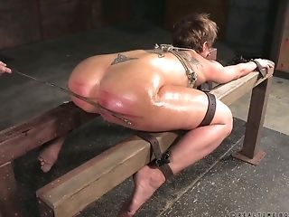 Ass, BDSM, Blonde, Caning, Gorgeous, MILF, Rough, Spanking,