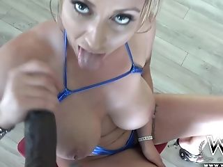 Big Tits, Club, Eva Notty, Interracial, Lexington Steele, MILF, POV,