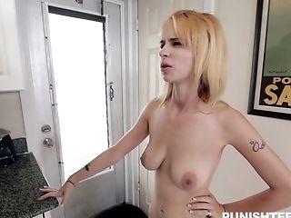 Ass, Babe, Blonde, Blowjob, Bold, Close Up, Couple, Doggystyle, Food, Hardcore,