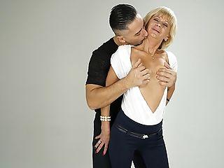 Blonde, Blowjob, Cumshot, Dick, Fingering, Granny, Hardcore, HD, Natural Tits, Sexy,