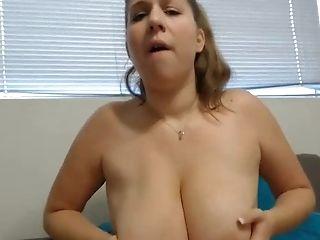 BBW, Big Natural Tits, Masturbation, Pornstar,