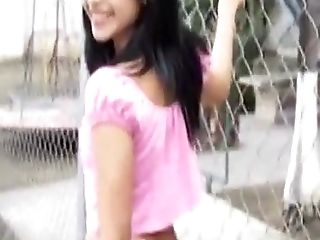 Amateur, Ass, Brunette, Ethnic, Fingering, Horny, Masturbation, Outdoor, Solo, Thai,