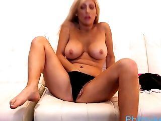 Blonde, Bra, Casting, Couple, Handjob, Hardcore, Natural Tits, Pussy, Sexy, Tasha Reign,