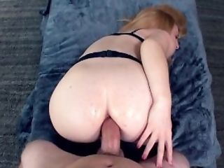 Anal Creampie, Anal Sex, Ass, Audition, Blowjob, Creampie, Cute, Ginger, HD, Redhead,