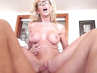 Babe, Big Tits, Blonde, Bra, Couple, Experienced, Hardcore, Mature, Pornstar,