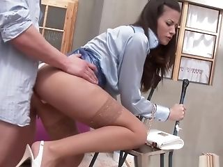 Babe, Blowjob, Brunette, Clothed Sex, European, Hardcore, Slut,