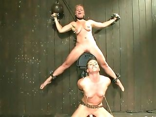 BDSM, Bondage, Dia Zerva, Nipples, Sybian,