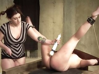 BDSM, Big Tits, Blonde, Brunette, Dildo, Femdom, Fetish, Punishment, Spanking, Torture,