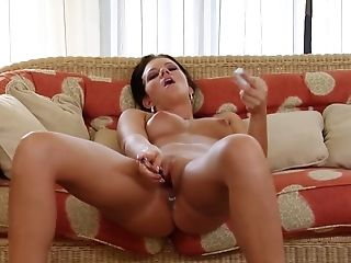Anal Toying, Ass, Babe, Close Up, High Heels, Masturbation, Model, Natural Tits, Pantyhose, Sex Toys,