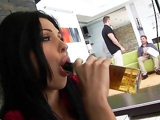 Aletta Ocean, Anal Sex, Backstage, Big Ass, Big Tits, Blowjob, Brunette, Hardcore, HD, Solo,