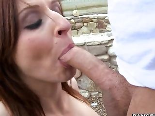 Big Tits, Blowjob, Brunette, Doggystyle, Facial, Handjob, Hardcore, HD, MILF, Outdoor,