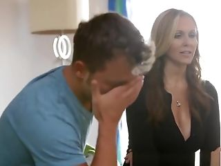 Creampie, Julia Ann, MILF, Son, Teen, Threesome,