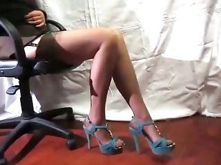 Feet, High Heels, Legs, Nymphomaniac, Sexy, Shoe, Slim, Slut, Webcam,