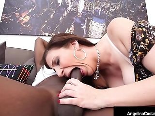 Angelina Castro, Gordas, Gran Polla Negra, Grandes Tetas, Negro, Mamada, Cubanas, Eyaculacion, Gran Pito, Sara Jay,