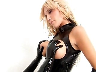 BDSM, Bizarre, Blonde, Fucking, HD, Latex, Riding, Rubber,