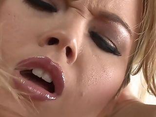 Große Titten, Blond, Brea Lynn, Dildo, Masturbation, Pornostar, Sex Spielzeug, Solo,