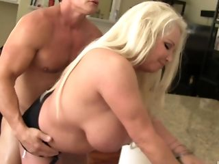 Babe, Big Tits, Blonde, Blowjob, Doggystyle, Hardcore, Lingerie, Long Hair, MILF, Missionary,