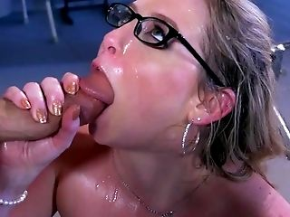 Ass, Blonde, Blowjob, Bukkake, Clinic, Close Up, Cumshot, Dick, Doctor, Facesitting,