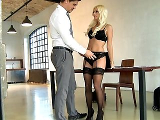 Anal Sex, Ass, Babe, Beauty, Blonde, Clamp, European, French, From Behind, Jessie Volt,