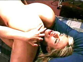 Chica, Lamer Semen, Lesbiana, Nikki Love, Estrella Porno, Vagina,