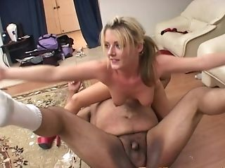 Ass Licking, Blonde, Blowjob, Bra, Couple, Fat, Fetish, Food, Hardcore, High Heels,